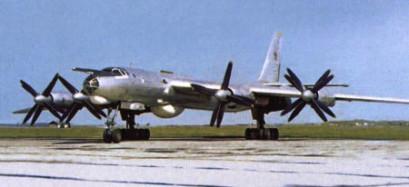 Tu-142 MZ. Código OTAN: Bear-F. Foto: internet