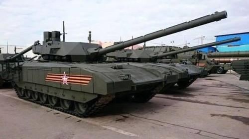 T-14 Armata -  da forma como será visto no desfile do dia 09 de Maio. Foto Divulgação via Rustam Bogaudinov