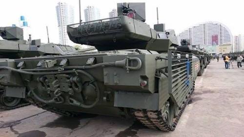 T-14 - vista traseira.