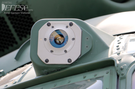 Sensor laser cabine