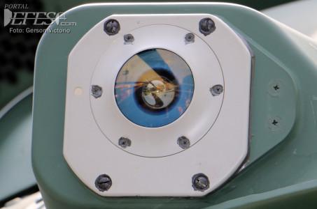 Sensor laser cabine perto