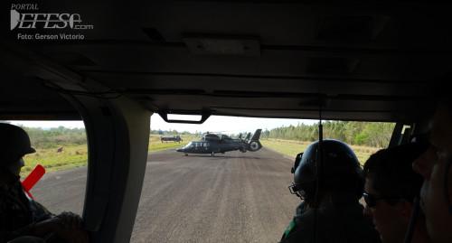 pantera pouso aerodromo