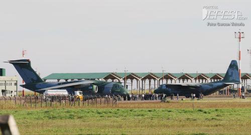KC-390 e C-130 1