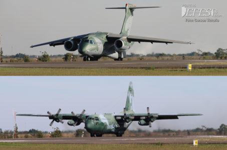 Kc-390 & C-130